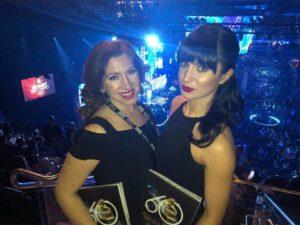 Niamh White at the Grammy Awards